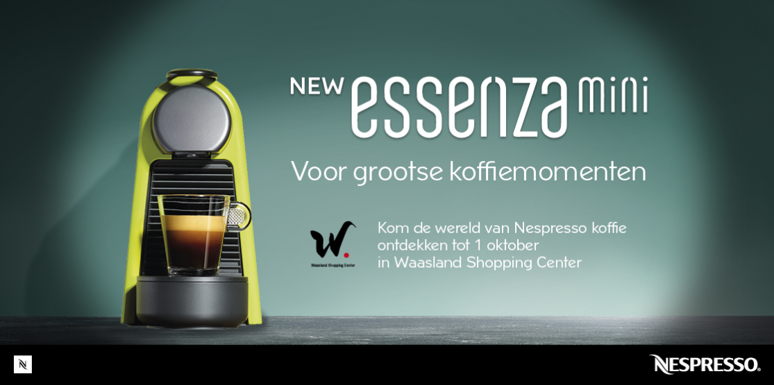 Pop-up Nespresso