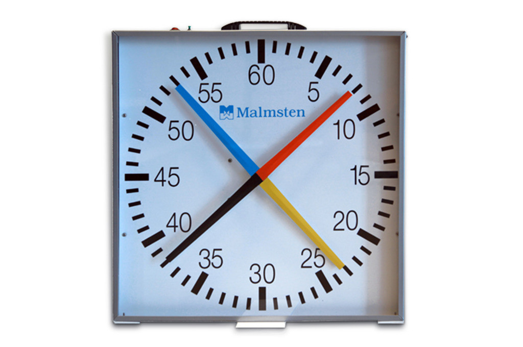 Pace Clock With 4 Hands 1912006 Produkter Malmstencom