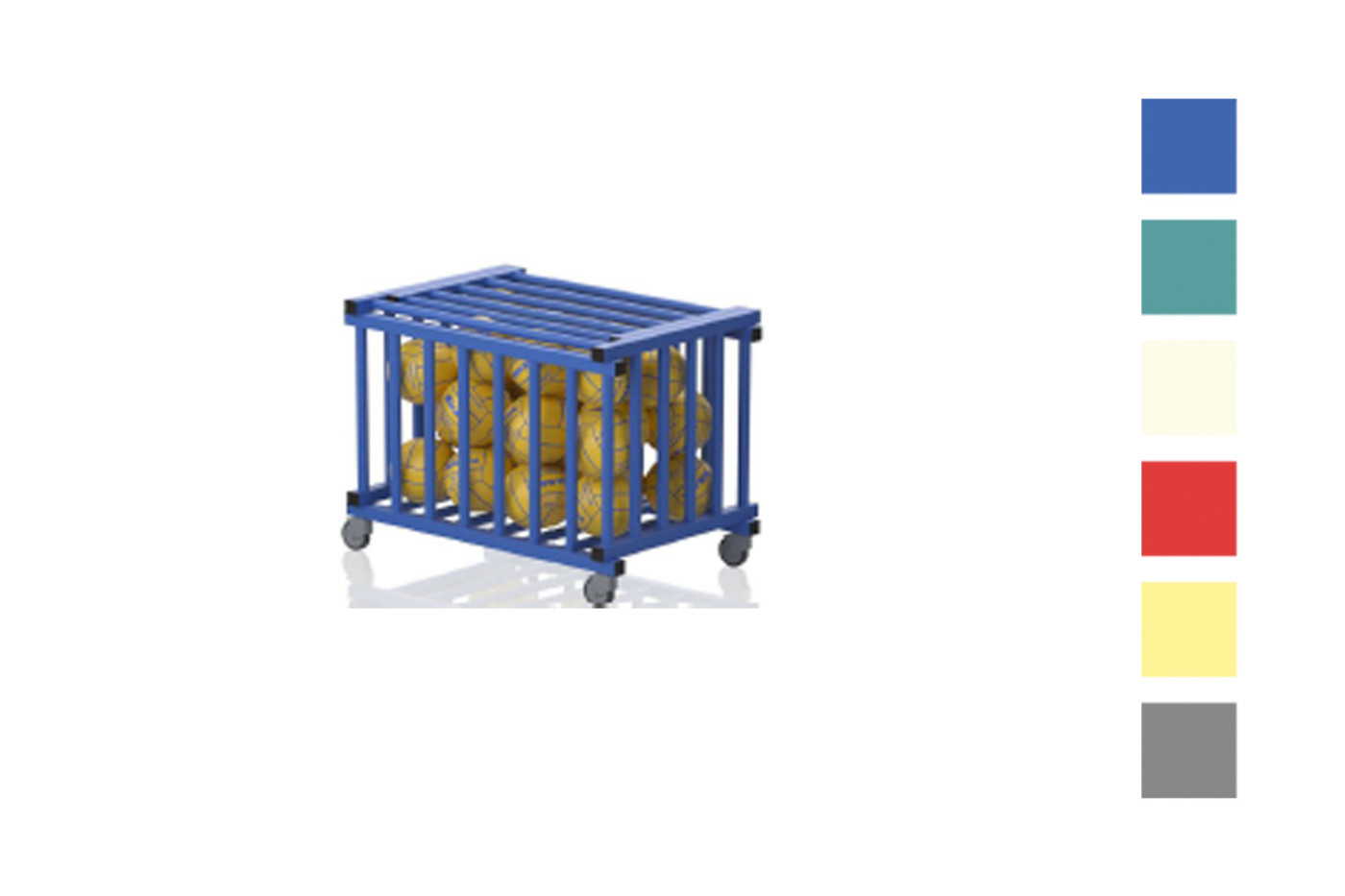 Storage Trolley Malmsten With Wheels And Lid 2412342