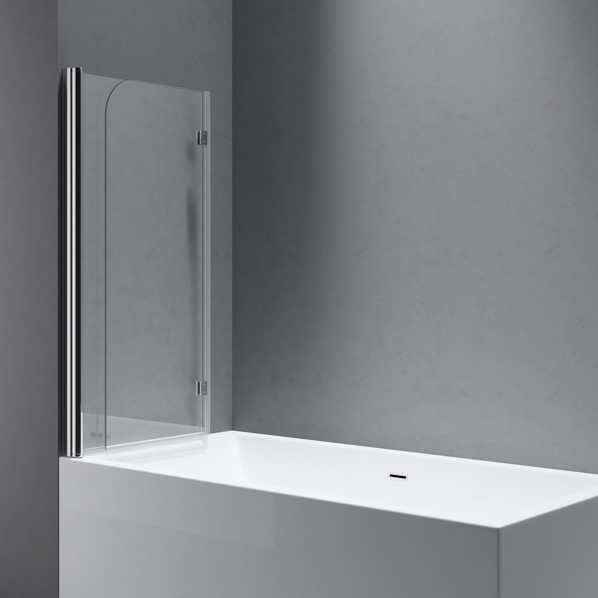 Indoor Whirlpools Wannen Heimwerker Sogood Duschabtrennung Duschwand Fur Badewanne Aus Esg Glas Badewannenfaltwand Granted Com Br