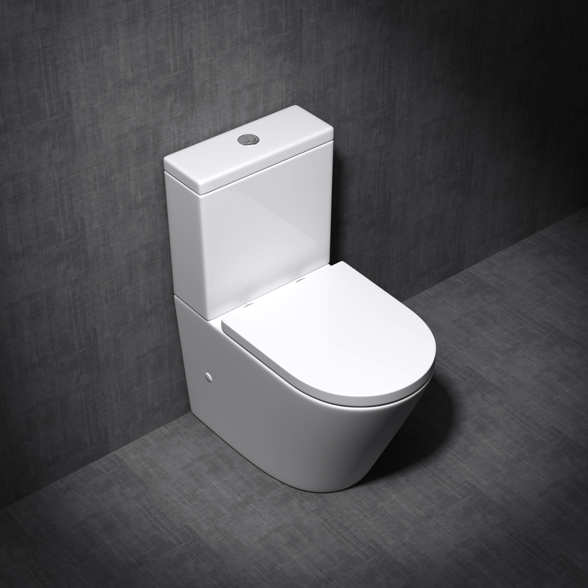sp lrandloses wc mit sp lkasten stand toilette softclose wc sitz abnehmbar neu ebay. Black Bedroom Furniture Sets. Home Design Ideas