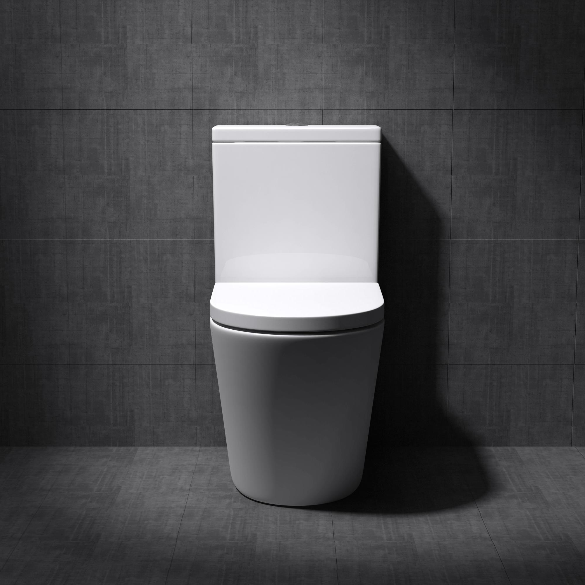 sp lrandloses wc mit sp lkasten stand toilette softclose wc sitz abnehmbar neu ebay. Black Bedroom Furniture Sets. Home Design Ideas