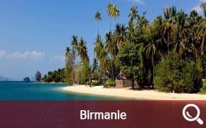Jonques en Birmanie
