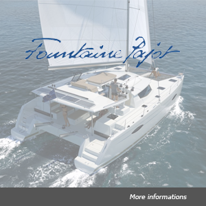 Fleet Fountaine Pajot catamaran