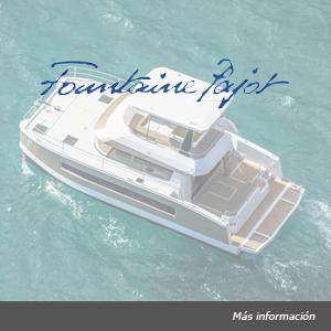 Foлот Fountaine Pajot catamarán a motor