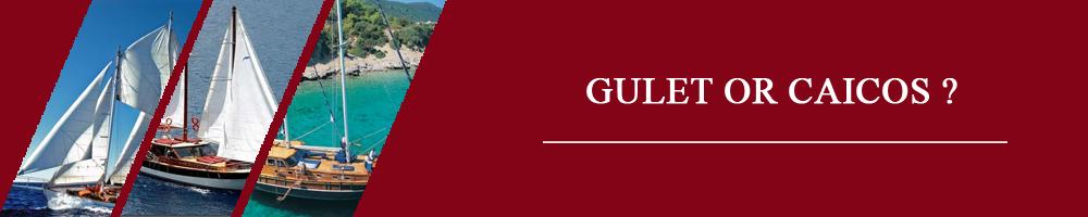 Caicos Gulet Rental