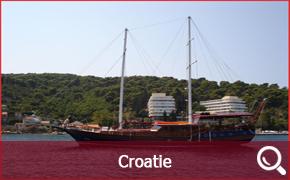 Location de Goélettes, Gulet et Caïques en Croatie