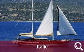 Location de Goélettes, Gulet et Caïques en Italie