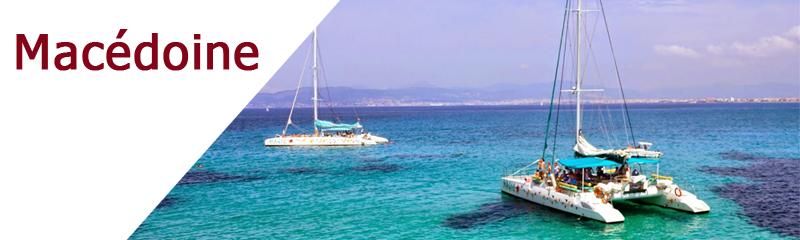 Location de bateaux en Grèce Macédoine
