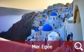 Itinéraires de croisières en Grèce en Mer Egée