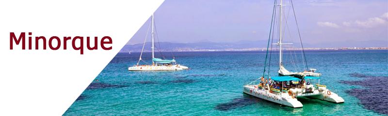 Location de bateaux à Minorque