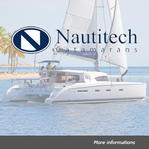 Fleet Nautitech catamaran