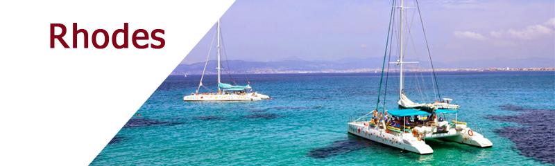 Location de bateaux dans le Dodécanèse à Rhodes