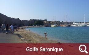 itinéraire de croisières en Grèce dans le Golfe Saronique
