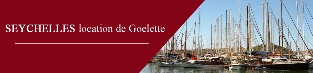 Location Goélettes aux Seychelles