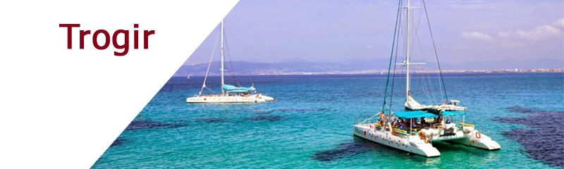 Location de bateaux dans la région de Trogir