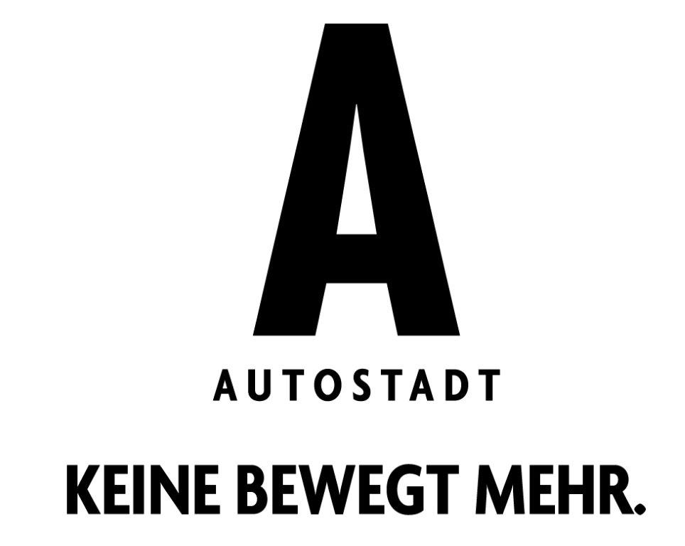 Wort-/Bildmarke: A AUTOSTADT KEINE BEWEGT MEHR.