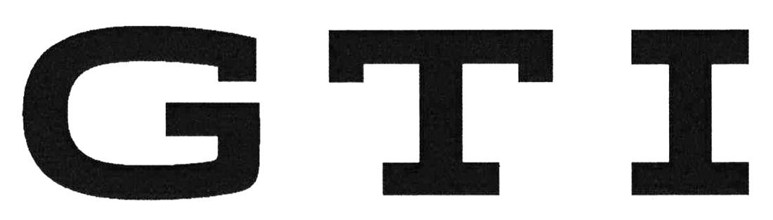 Wort-/Bildmarke: GTI