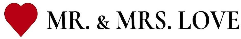 Wort-/Bildmarke: MR. & MRS. LOVE