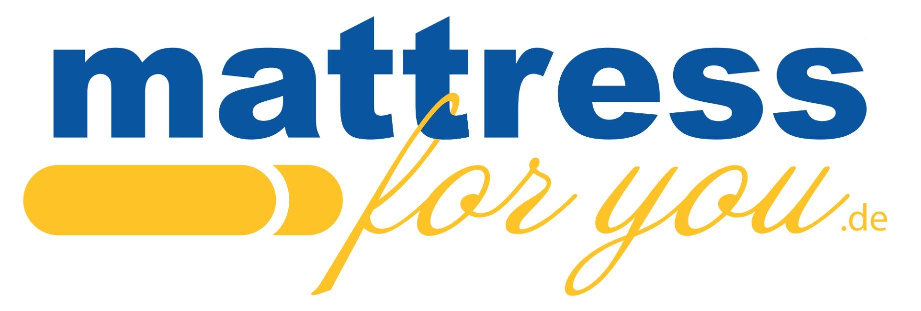 Wort-/Bildmarke: mattress for you.de
