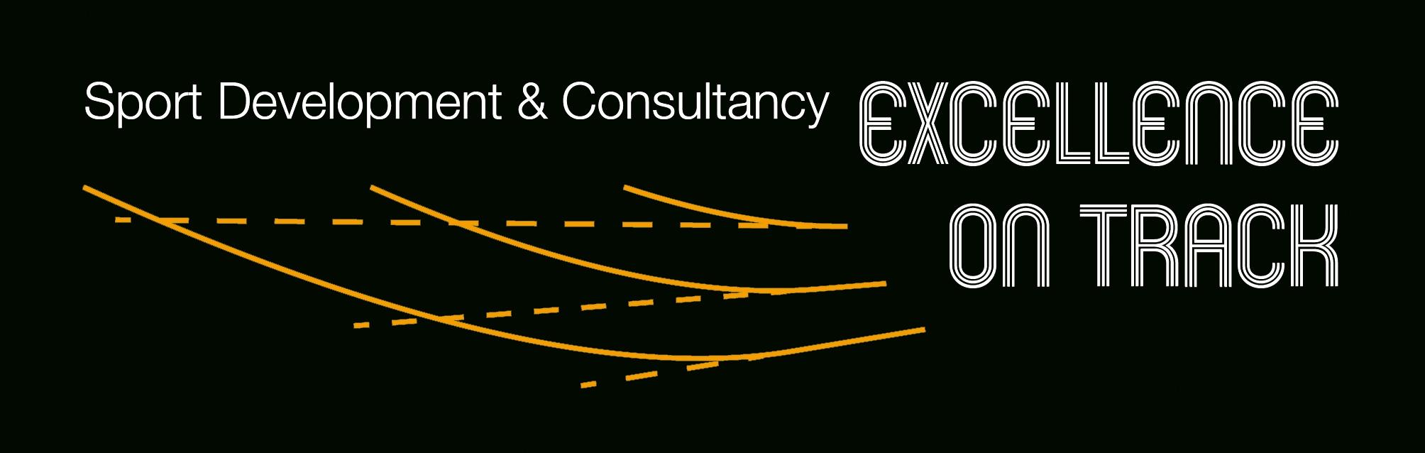 Wort-/Bildmarke: Sport Development & Consultancy EXCELLENCE ON TRACK