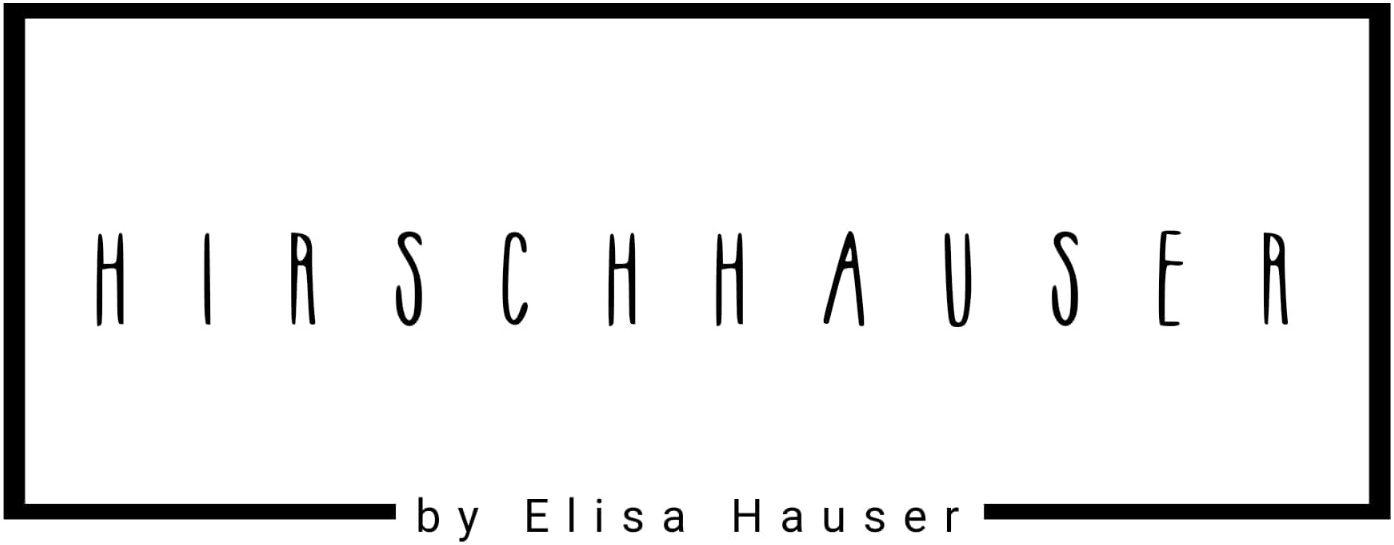 Wort-/Bildmarke: HIRSCHHAUSER by Elisa Hauser