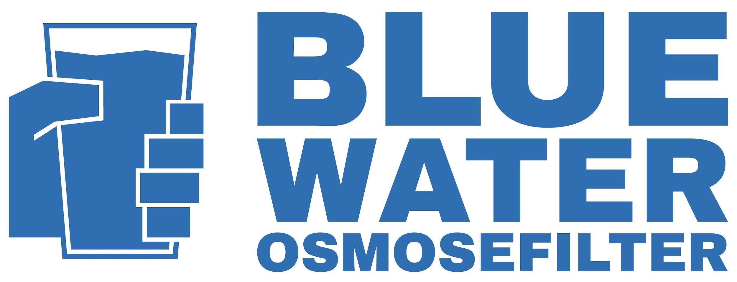 Wort-/Bildmarke: BLUE WATER OSMOSEFILTER