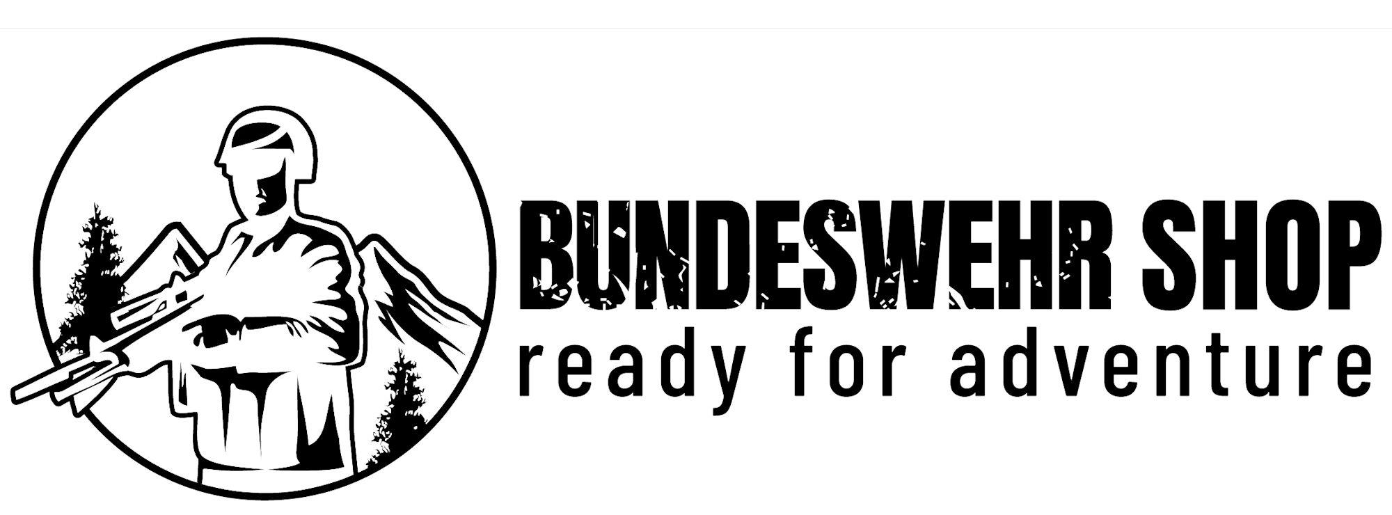 Wort-/Bildmarke: BUNDESWEHR SHOP ready for adventure