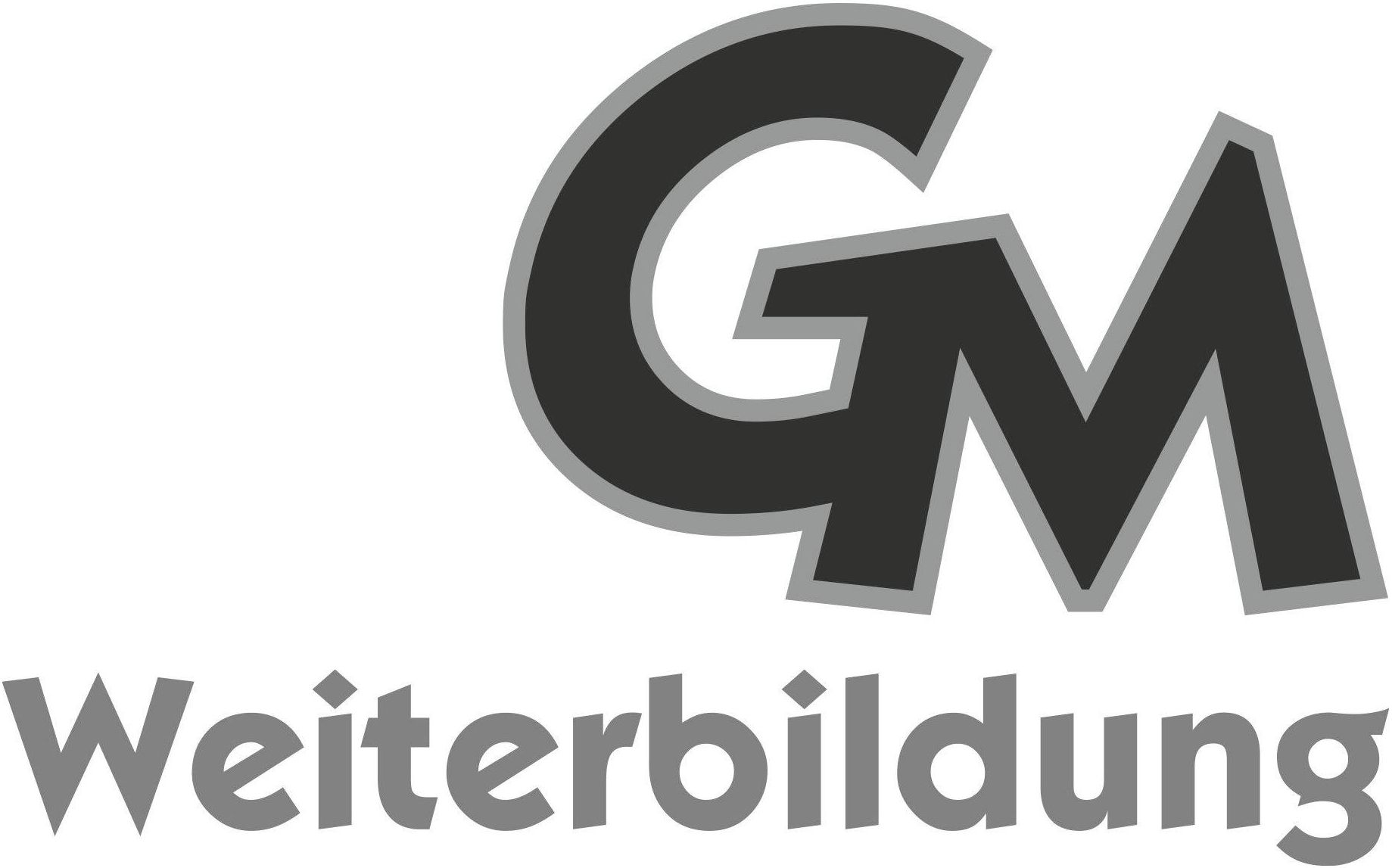 Wort-/Bildmarke: GM Weiterbildung