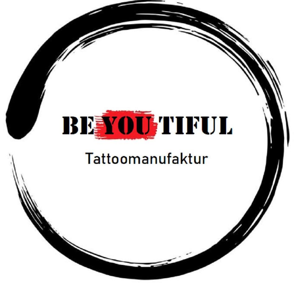 Wort-/Bildmarke: BE YOU TIFUL Tattoomanufaktur