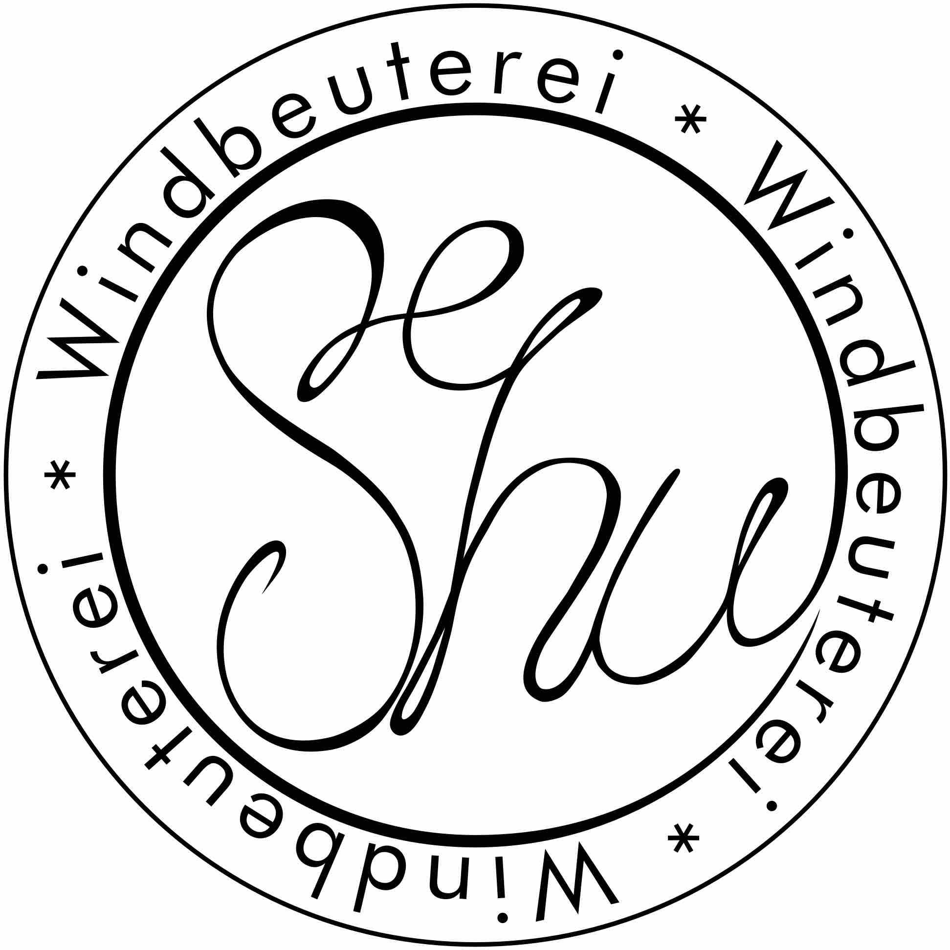Wort-/Bildmarke: SeShu Windbeuterei * Windbeuterei * Windbeuterei