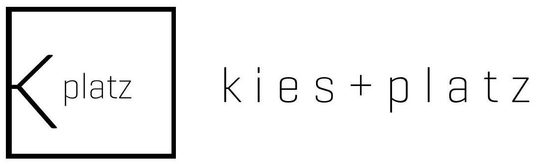 Wort-/Bildmarke: K platz kies + platz