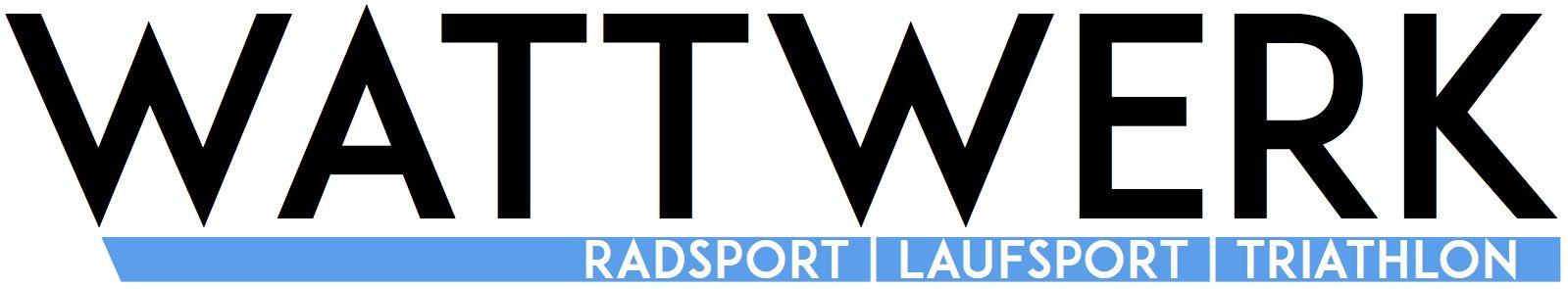 Wort-/Bildmarke: WATTWERK RADSPORT   LAUFSPORT   TRIATHLON