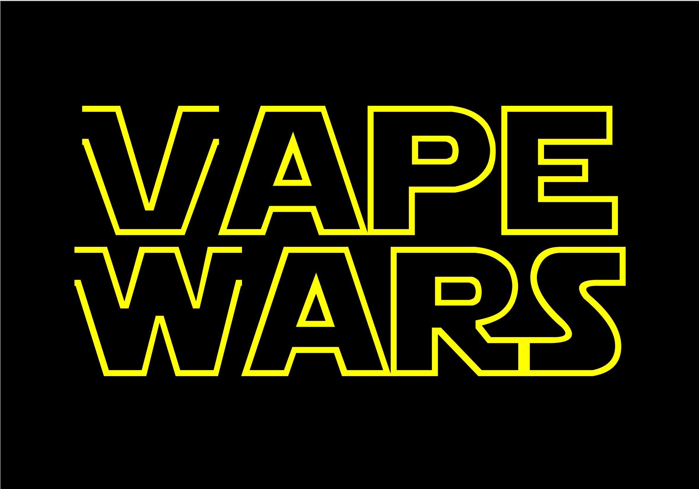 Wort-/Bildmarke: VAPE WARS