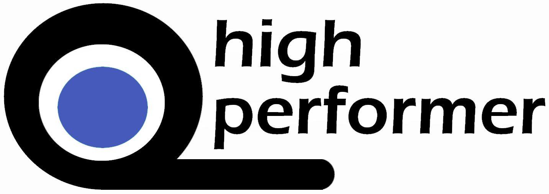 Wort-/Bildmarke: high performer