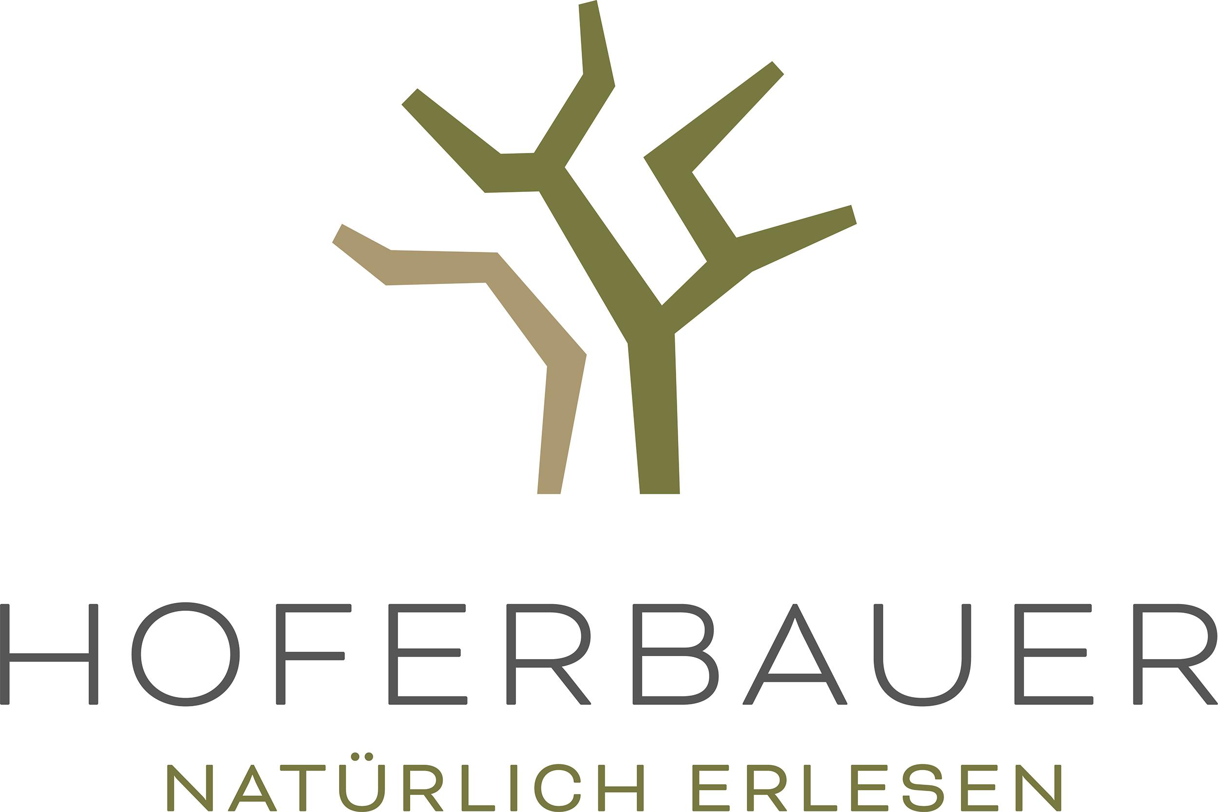 Wort-/Bildmarke: HOFERBAUER NATÜRLICH ERLESEN