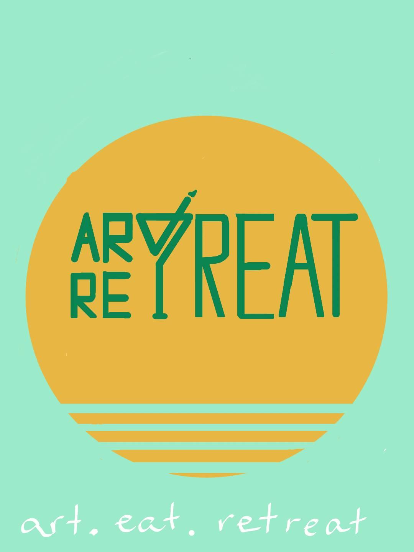 Wort-/Bildmarke: ART RETREAT art. eat. retreat