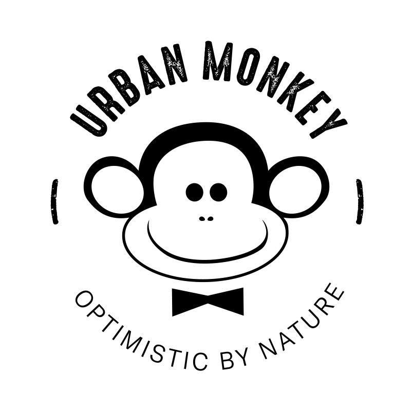 Bildmarke: URBAN MONKEY OPTIMISTIC BY NATURE