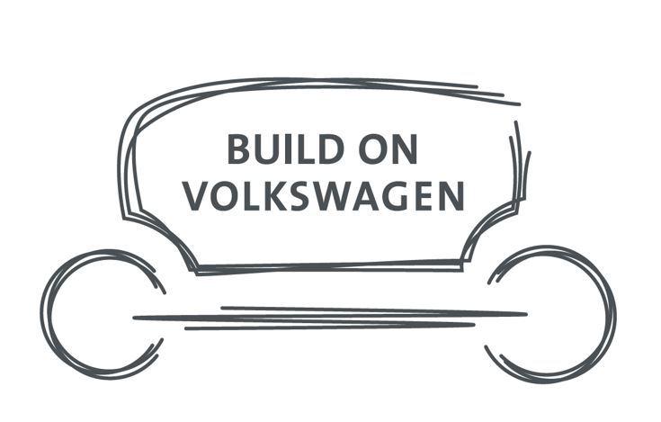 Bildmarke: BUILD ON VOLKSWAGEN
