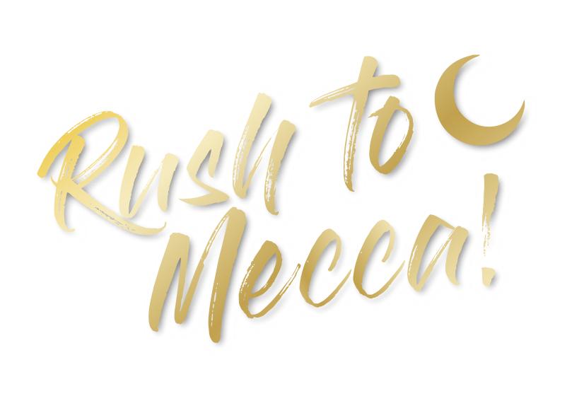 Bildmarke: Rush to Mecca