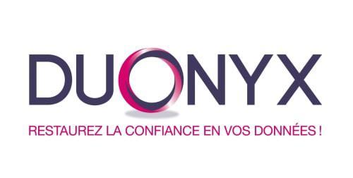 Bildmarke: DUONYX RESTAUREZ LA CONFIANCE EN VOS DONNÉES