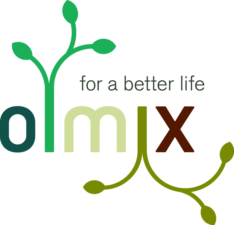 Bildmarke: olmix for a better life