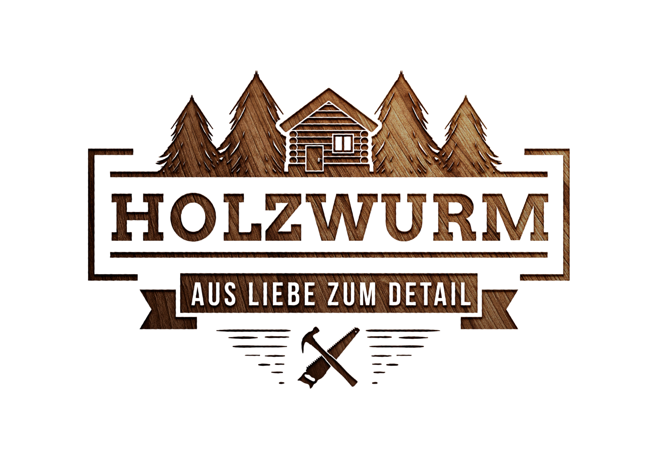 Bildmarke: HOLZWURM AUS LIEBE ZUM DETAIL