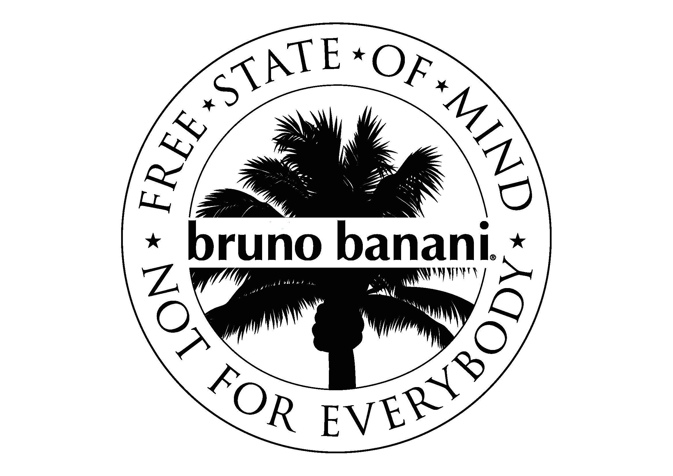 Bildmarke: bruno banani – FREE STATE OF MIND – NOT FOR EVERYBODY