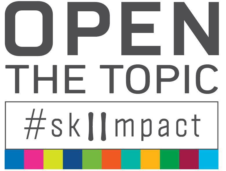 Bildmarke: OPEN THE TOPIC SKIIMPACT