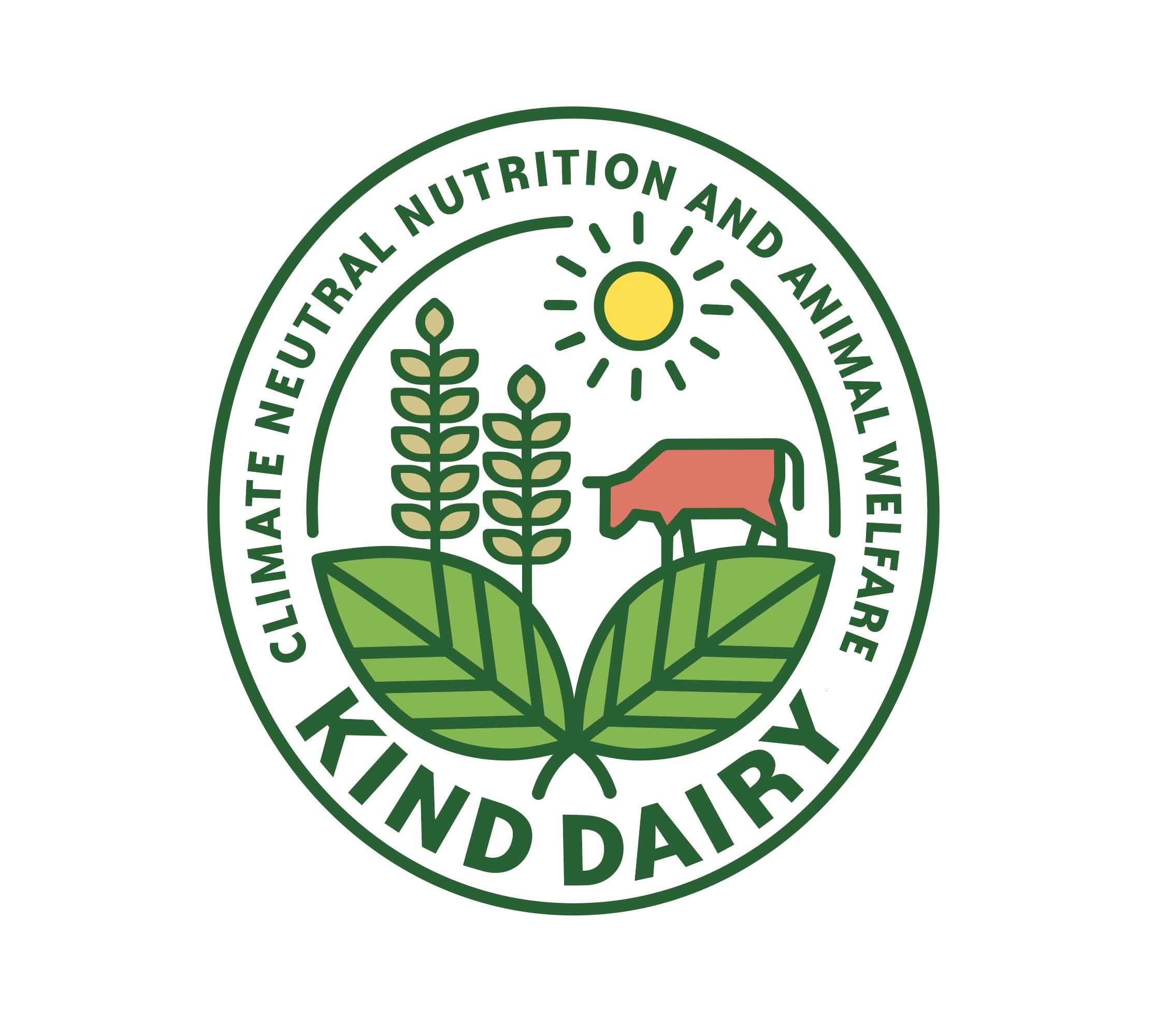 Bildmarke: KIND DAIRY CLIMATE NEUTRAL NUTRITION AND ANIMAL WELFARE