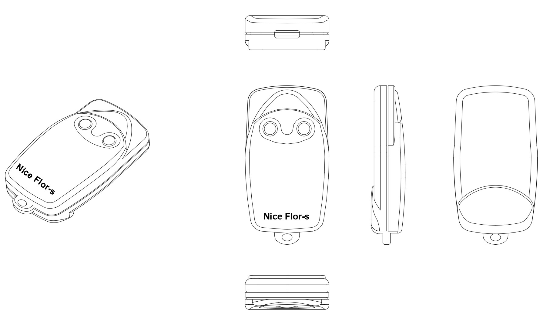 3D-Marke: NICE FLOR-S