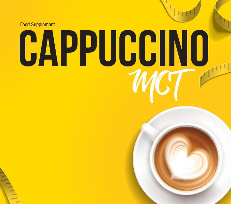 Bildmarke: Food Supplement CAPPUCCINO MCT