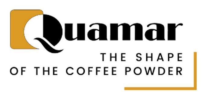 Bildmarke: Quamar THE SHAPE OF THE COFFEE POWDER