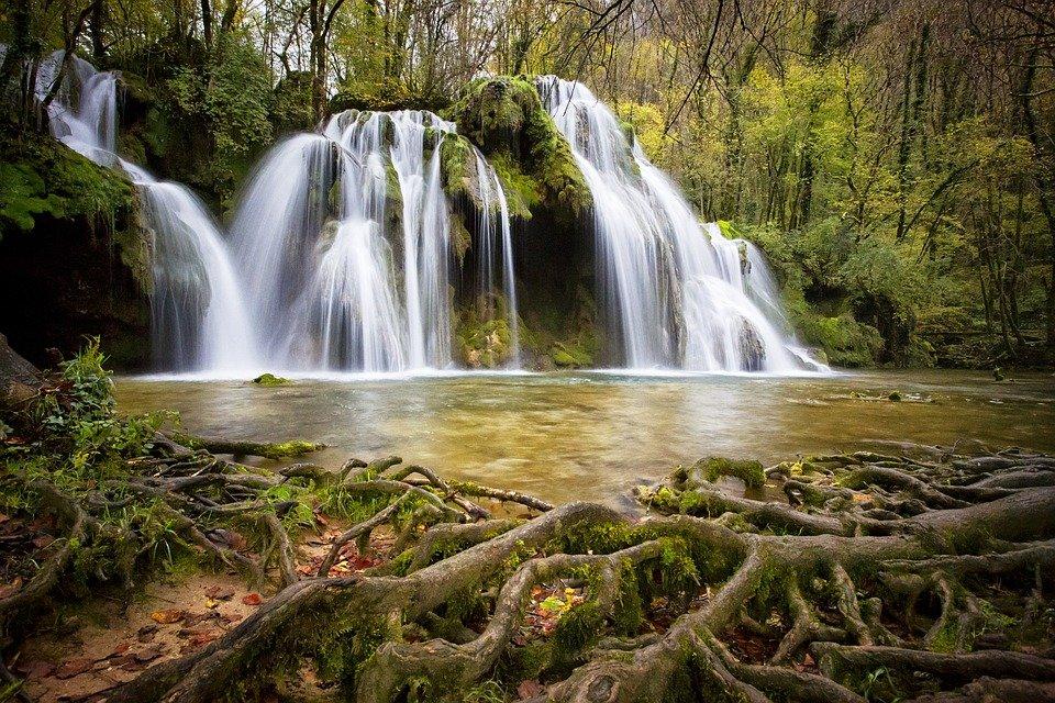 Medovye vodopady v Kislovodske legko najti na karte